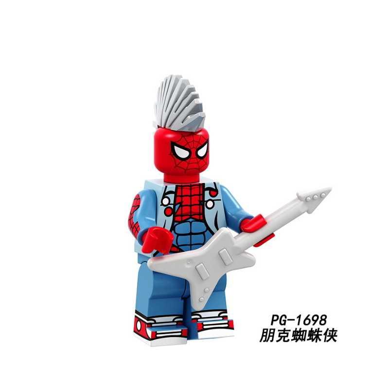 Logoed Figuras Building Blocks Super Heróis Viúva Negra Karam Cavaleiro magia Cartão PG8193 Ninjagoed Tijolos Brinquedos Bonecas Para Crianças