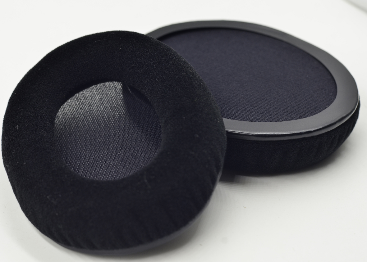 Kind of lining can you expect on the kingston hyperx cloud ii headset - Velour Replacement Cushion Ear Pads Cover Pillow For Gaming Headset Kingston Hyperx Cloud Ii Khx