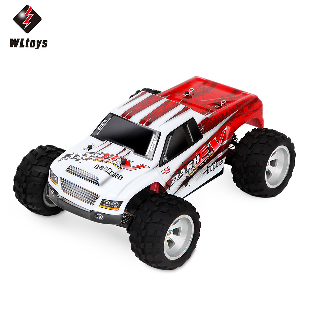 70KM/H,New Arrival 1:18 4WD RC Car Wltoys A979 Updated Version A979-B 2.4G Radio Control Truck RC Buggy Off-Road VS Wltoys A959