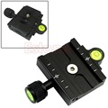 60mm Clamp+ QR60 Quick Release Plate For Compatible Arca Swiss Tripod Ball Head