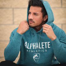 2017 Autumn Winter New Men fashion brand hoodies Gyms Fitness bodybuilding Sweatshirt pullover sportswear male casual clothing