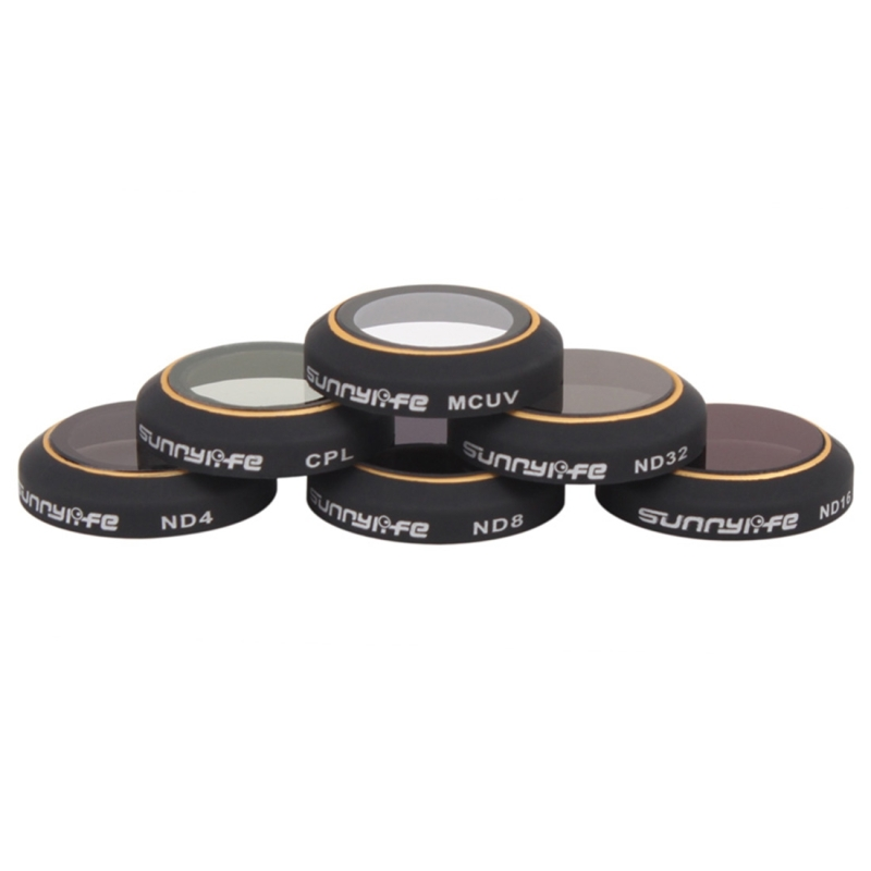 16//8 4 Lens Filter Set for DJI Mavic Pro Camera Supplies 4 in 1 HD Drone Camera ND32