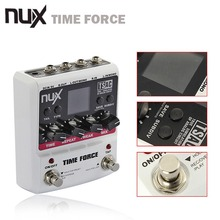 NUX TIME FORCE Guitar effect Pedal delay Multi Digital 11 Delay Effects pedal de guitarra Capo Electric Guitar Accessories