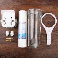 Household Water Purifier Prefilter Set Tap Filter Backwash Kitchen Water Filter 10 inch Hanging Single-stage Water