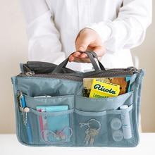Doppio sacchetto della borsa da viaggio con cerniera cubo cubetti di imballaggio cubetti di alta capacità di mano Necessità quotidiane pacchetto di finitura necessità di turismo