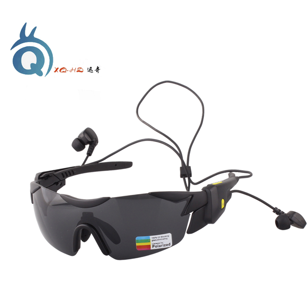 XQHD Wireless bluetooth sunglasses, Polarized Sports Glasses Hands free Calling for Men Women Running Cycling Driving цена и фото