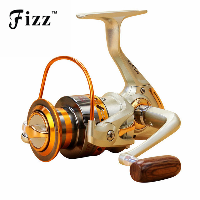 Reparto estupendo EF500 Spinning Mar Carrete de Pesca de Metal 1000 2000 3000 40