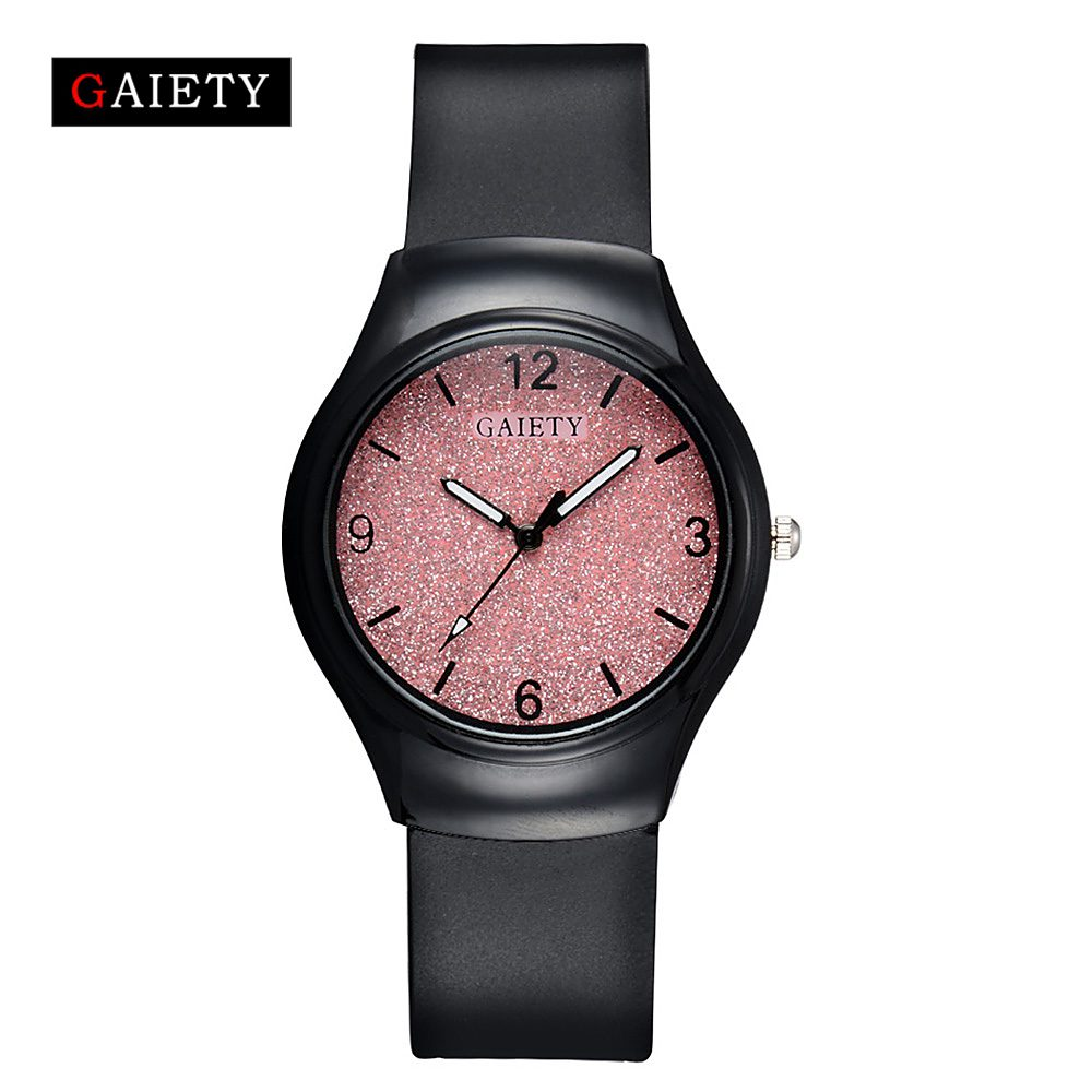 Gaiery Brand Bracelet Watches Women Fashion Silicone Clock Quartz Watch Casual Ladies Vintage Sport Wrist Watch Dropshipping mjartoria ladies watches clock women quartz watch simple sport bracelet watch student girl female hand wrist watches for women