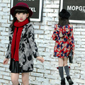 2015 New Tide Fan Tong Windbreaker Coat Girl Children Winter Camouflage Cloth Baby Clothes