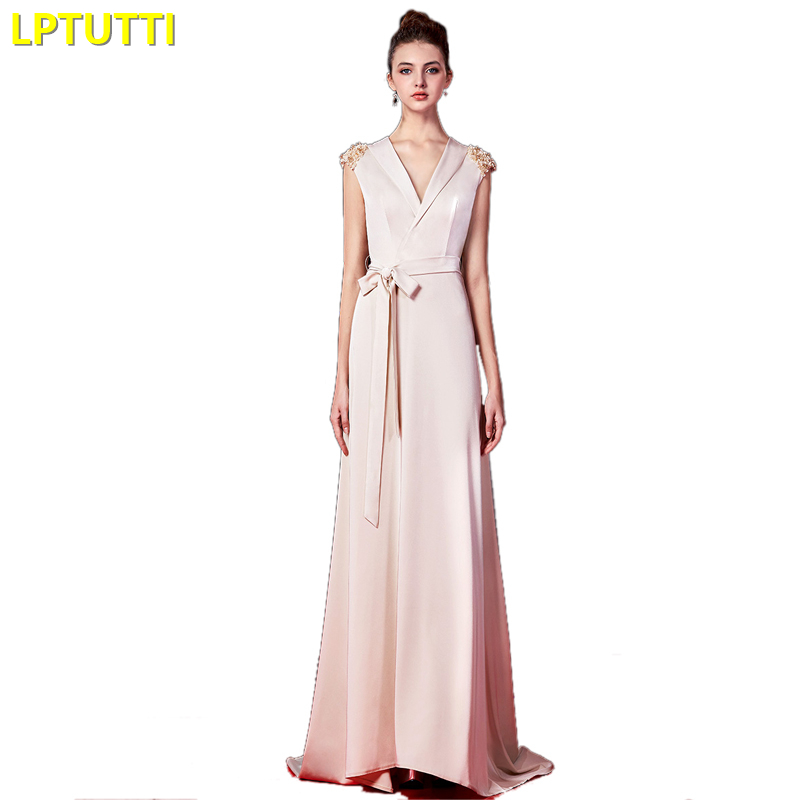 LPTUTTI Appliques Sashes Gratuating New For Women Elegant Date Ceremony Party Prom Gown Formal Gala Luxury Long Evening Dresses