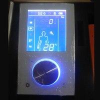 JMKWS цифровой смеситель для душа термостатический смесительный клапан ЖК душевая панель умный переключатель управления кран ванная сенсорн