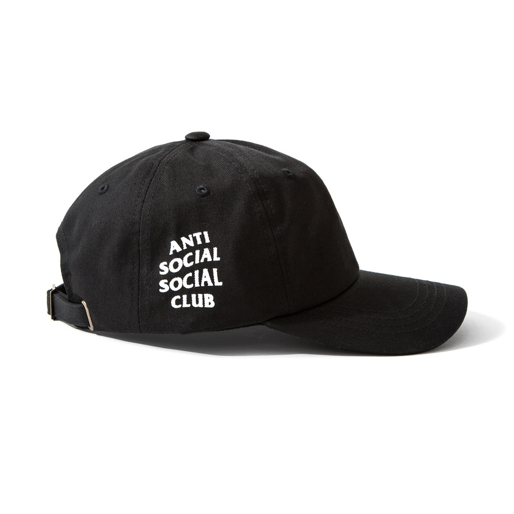 90046501b13 Exclusive customized design brand Anti Social Social Club 5 Panel  Unstructured Hat Black Travis  cott Cap 6 panel snapback cap-in Baseball  Caps from Apparel ...