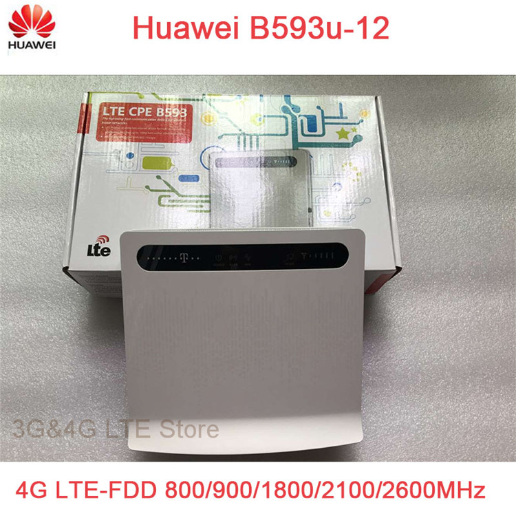 unlocked Huawei B593 B593U-12 100Mbps 4G LTE FDD CPE wifi wireless Router with sim card slot pk B310S-22 B890 B593S-22 B315S-22 unlocked huawei b593u 12 lte cpe industrial wifi 4g router with sim card slot tdd fdd 4g lte cpe router b880 b890 e5172 b2000