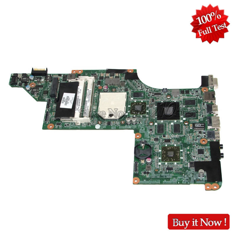 NOKOTION For HP pavilion DV7-4000 Laptop Motherboard 615687-001 DA0LX8MB6D1 Main Board HD5650 1GB Free CPU, цена и фото