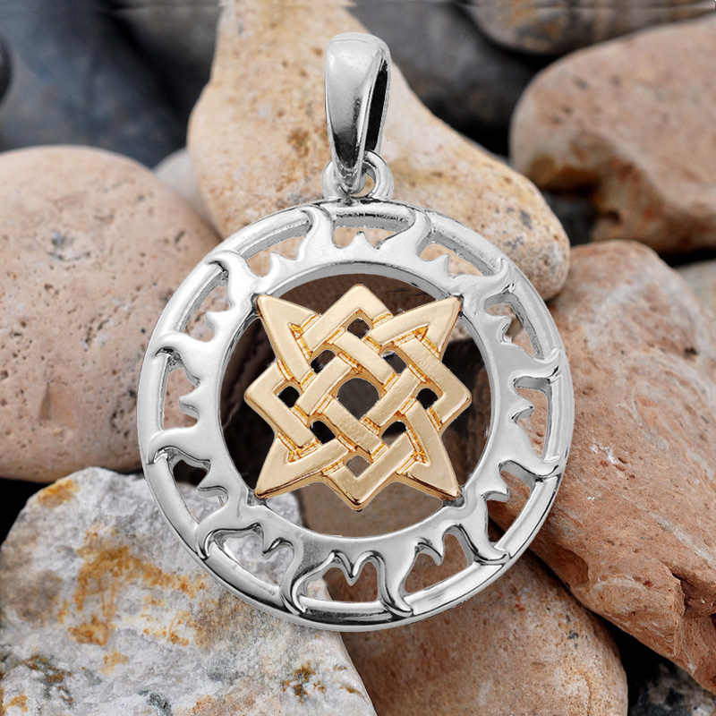 Aliexpress Com Buy 2 In 1 Constellations Pendant Amulet: Aliexpress.com : Buy Slavic Pendants Yngly Star Amulet