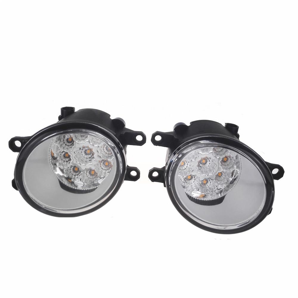 For TOYOTA COROLLA Verso S AVENSIS T25 CAMRY Verso desire IST RACTIS 2003-2014 Car-Styling Led Fog Light DRL Fog Lamps 1set