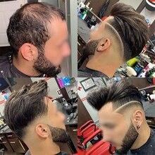 """Мужской парик# 1B OSCAR 8X1"""" швейцарское кружево центр и передняя сторона поли вокруг волос заменить мужчин t кружева волосы протезирование Dolago шелковая основа волос"""
