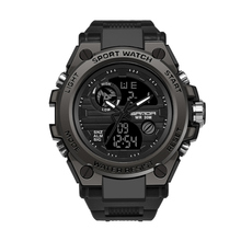 Nowy marka SANDA 739 moda zegarka mężczyzna LED zegarek cyfrowy G na zewnątrz profesjonalny wodoodporny sportowy zegarek w stylu wojskowym relojes hombre tanie tanio Cyfrowe Zegarki Na Rękę Stop 25 5cm Klamra 3Bar Luminous Auto data Kompletna kalendarz Odporne na wodę Wyświetlacz tydzień