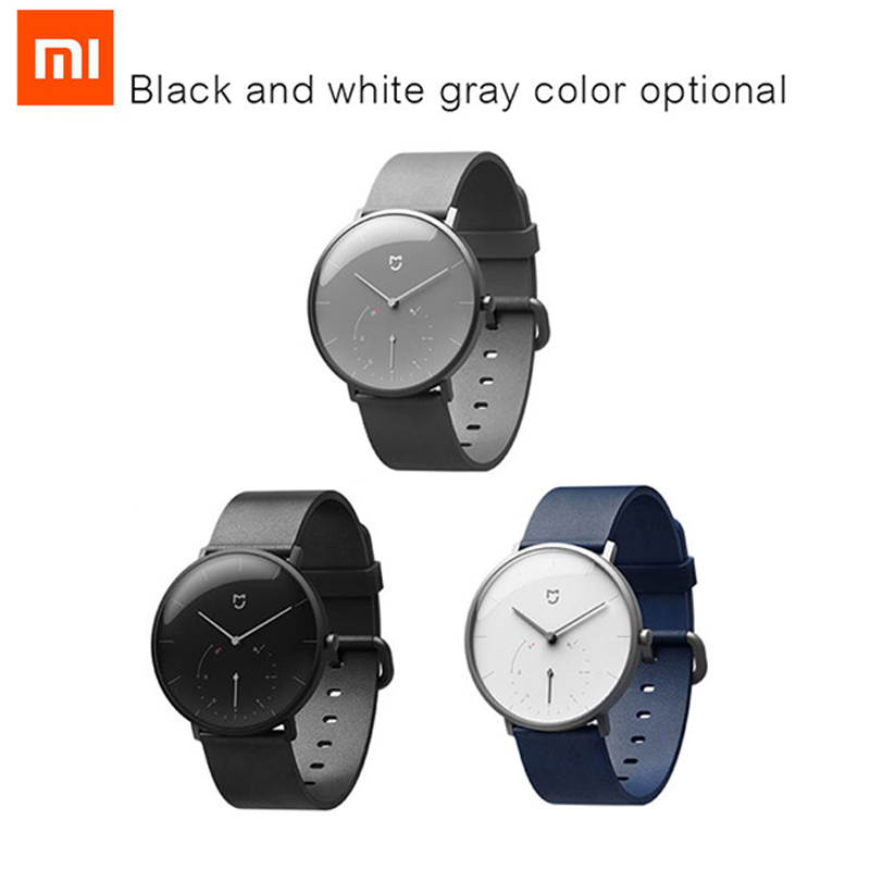 Xiaomi Mijia Quartz Watches Double Dial Waterproof with Alarm Sport Sensor BLE4 0 Wireless Connect to