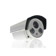 POE cylindrical HD 1080P Network IP Camera P2P lamp night vision outdoor waterproof metal 2IR onvif Security