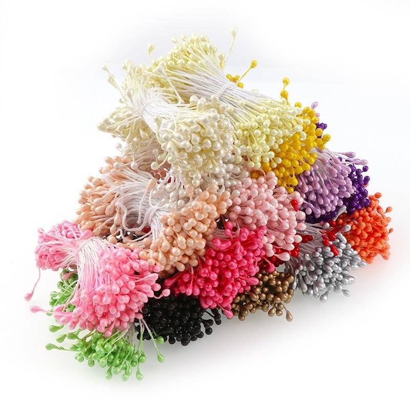 150 шт./лот мини цветок Искусственные тычинки жемчужная тычинка Bud DIY ВЕНОК ручной работы предметы для скрапбукинга искусственный цветок для свадьбы декор