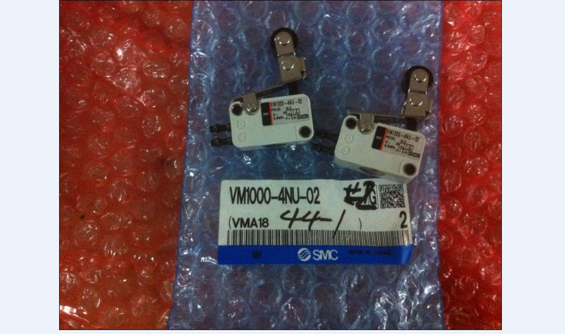 BRAND NEW JAPAN SMC GENUINE VALVE VM1000-4NU-02 brand new japan smc genuine gauge g36 4 01