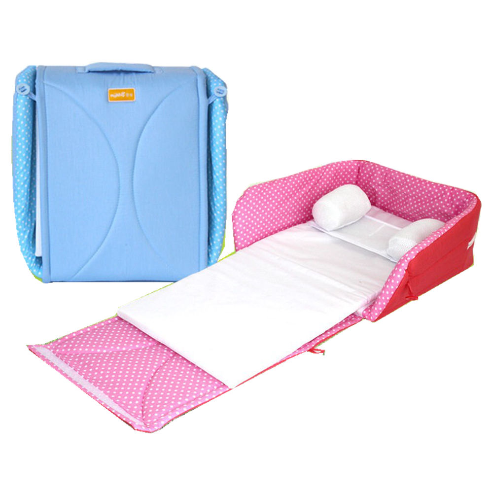 Portable folding bed in a bag - Newborn Baby Cradles Crib Infant Safety Portable Folding Bed Cot Playpens Bed 70 31 Child