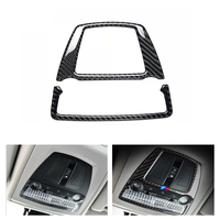 Car Styling Real Carbon Fiber Front Reading Light Frame Cover Trim for BMW 5GT F07 F10 F25 F26 X3 X4