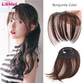 clip in bangs synthetic hair 1clip 20g hairpiece black brown red bang hair clip for women frange clip in hair flequillo postizo