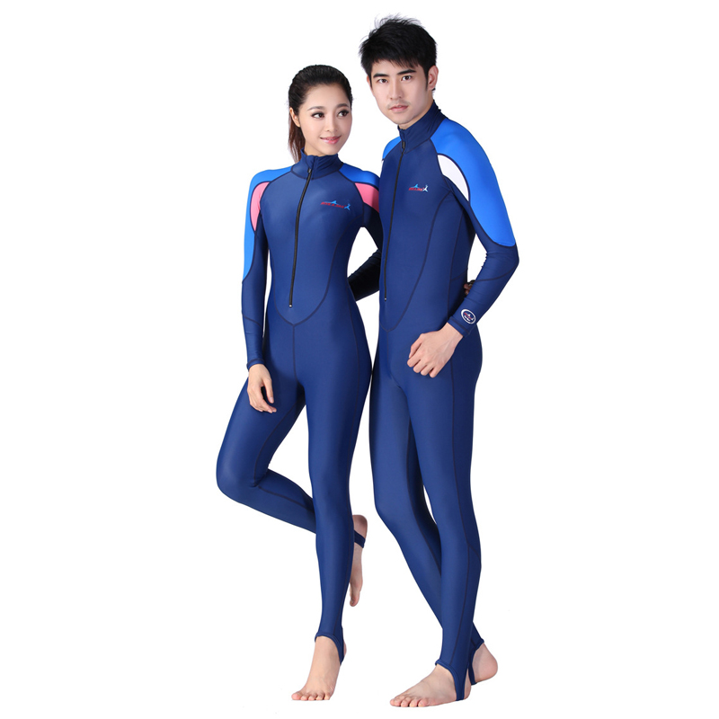H805 diving suitwomen UV Siamese swimsuit Snorkeling equipment Sunscreen wetsuit Jellyfish clothing Surf clothing