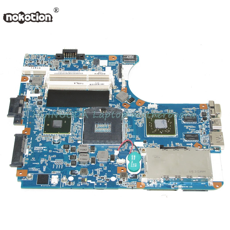 NOKOTION Mainboard for VPCEA MBX-224 Laptop Motherboard REV:1.1 1P-0106J01-8011 A1794324A HM55 Mainboar mbx 224 m960 laptop motherboard suitable for sony vpceb notebook pc mainboard a1771575a a1771577a hm55 available new