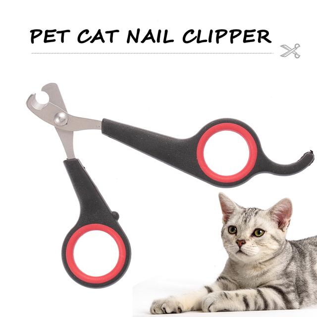 Cat Dog Pet Nail Clipper Stainless Steel Cat Grooming Nail Scissors Nail File Grooming Tool Set for Animals Pet Accessories  My Pet World Store