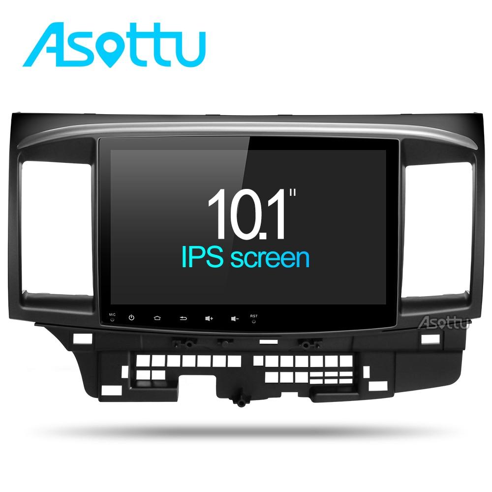 Asottu CYS1060 2G Octa Core Android 7,1 Para Mitsubishi Lancer estéreo multimedia GPS Radio del coche dvd gps estéreo gps