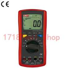 Uni T Ut70b Lcd Digital Multimeter Frequency Conductance Logic Test Transistor Temperature Analog Display Digital Multimeter(China)