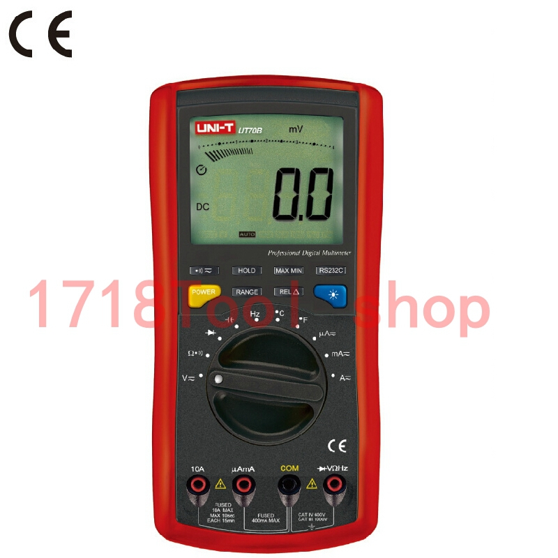 Uni T Ut70b Lcd Digital Multimeter Frequency Conductance Logic Test Transistor Temperature Analog Display Digital Multimeter uni t ut70b lcd digital multimeter auto range frequency conductance logic test transistor temperature analog display