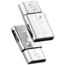 DM Micro USB Женщина к Тип C-M Мужской Порт OTG Зарядки адаптер Разъем Конвертер для iPhone iPad Huawei Xiaomi LG Sony Таблетки