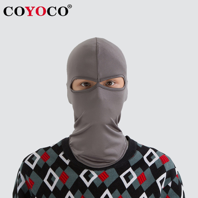COYOCO Windproof Motorcycle Cycling 2 Holes Hawkeye Full Face Mask Ski Neck Protecting Outdoor Balaclava Eagle Eyes Face Mask