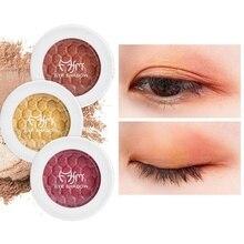 1pc Baked Eye Shadow Powder Waterproof Smudge-Proof Long-Lasting Soft Matte Shimmer Eyeshadow Pallete Makeup Cosmetics
