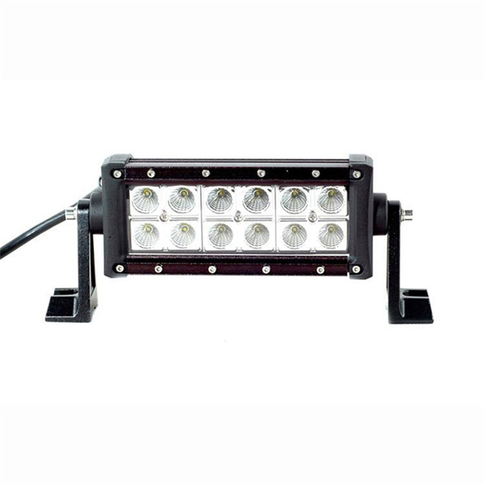 ФОТО 50% Discount!! 36W 12V CREE LED Work Lights 2520LM Flood Beam Offroad Light Bar Driving Fog Lamp ATV For Trucks Jeep 4X4 Tractor