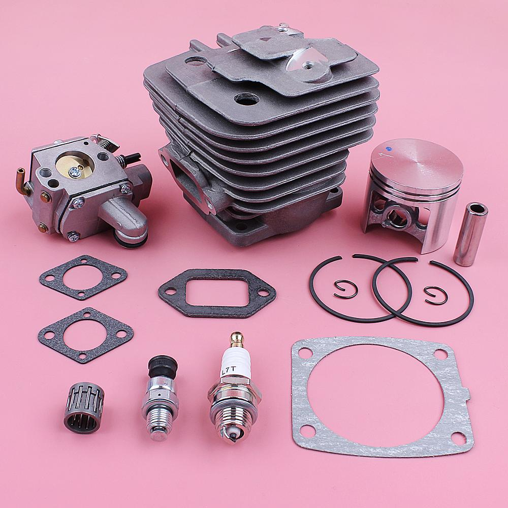 Tools : 47mm Cylinder Piston Kit For Stihl MS361 MS 361 Carburetor Decompression Valve Bearing Gasket Chainsaw Replace Spare Tool Part