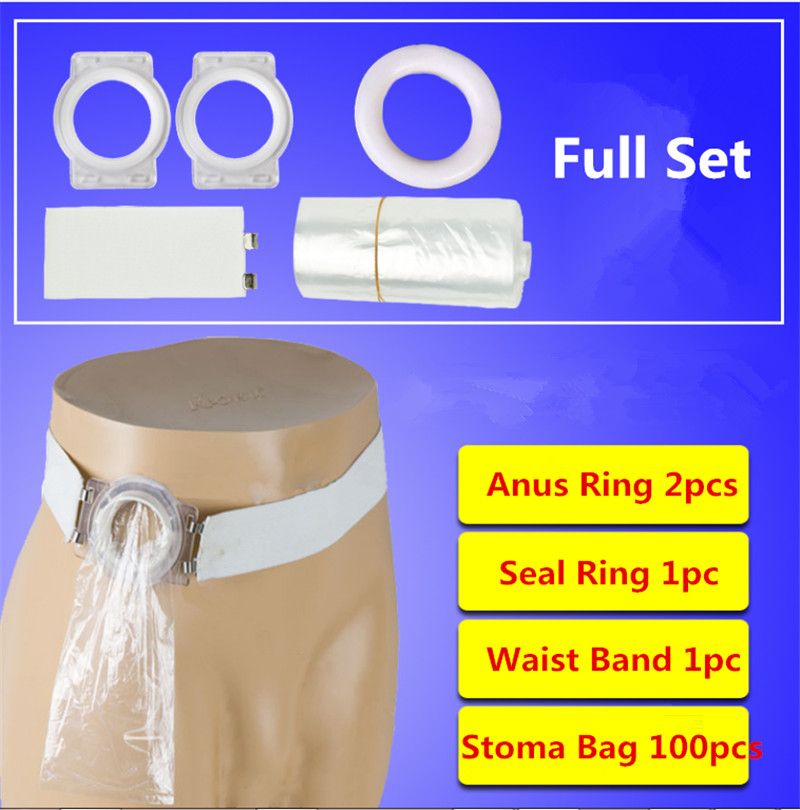 Ostomy Colostomy Bags Ostomy Belt Drainable Colostomy Pouch Leostomy Stoma Bags
