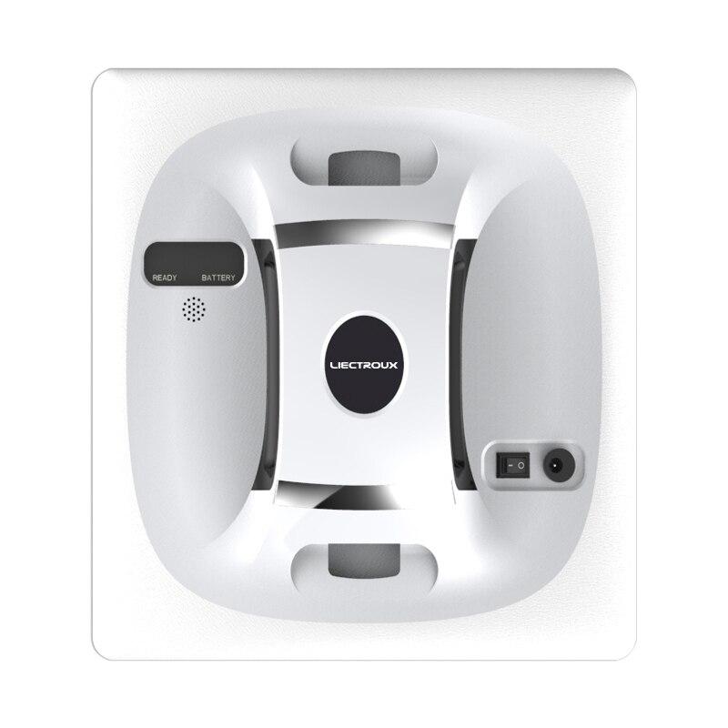 Liectroux X6 Automatische Fenster Vakuum Reinigung Roboter, sicher seil, Fernbedienung, Antifall, glas Wall Washer Mopp Reiniger, UPS system