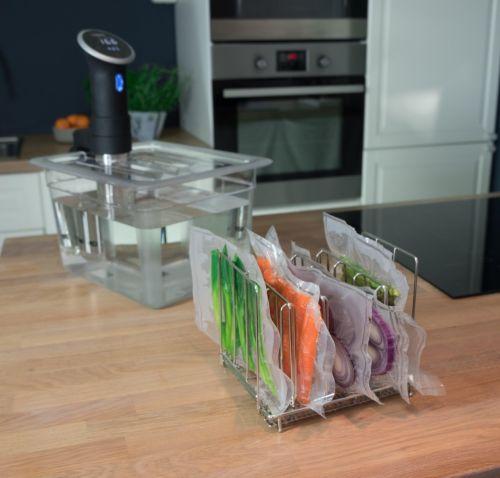 Multifunctional Storage Rack Divider Tool for SOUS VIDE Slow Cooker Tool