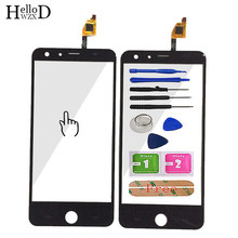 5.5inch A+++ Quality Front Touch Screen Digitizer Panel Glass For Ulefone Be Touch 2 Touch Glass Flex Cable + Free Adhesive Gift(China)