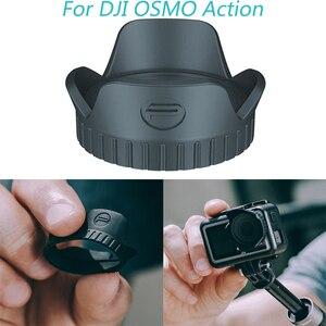 Image 3 - สำหรับ DJI OSMO ACTION เลนส์กล้องเลนส์บังแดดสำหรับ DJI OSMO ACTION อุปกรณ์เสริม
