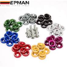 EPMAN 8PCS/SET JDM Style Fender Washers Bumper Washer Lisence Plate Bolts Kits for CIVIC ACCORD EP-DP01S(China)
