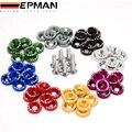 Epman 8 шт./компл. JDM стиль шайбами бампер шайба Lisence болты комплект для гражданского согласия EP-DP01S