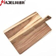 HADELI Acacia Wood Cutting Board Large Divine Bread Plate Creative Kitchen Gadgets