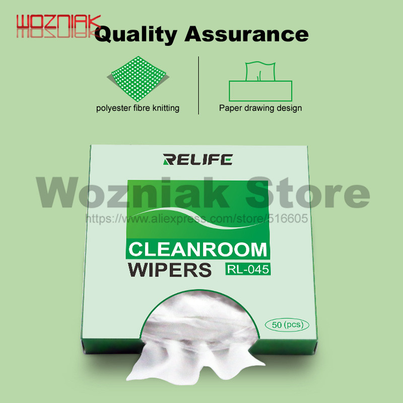 Wozniak High-quality Antistatic Dust-free Cloth Wiping Cloth On Mobile Phone Screen Cleaning Main Board Industrial Wipes