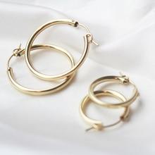 الذهب شغل هوب أقراط مجوهرات الحديثة بساطتها بوهو Brincos هدية خمر Pendientes Oorbellen أقراط للنساء